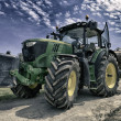 Tractor in Vineyard — Stock Photo #25602957