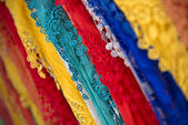 Colorful Shawls — Stock Photo