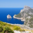 Cape Formentor in the Coast of North Mallorca — Stock Photo