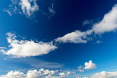 Dramatic Blue Sky — Stock Photo