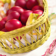 Red Easter Eggs — Stock Photo #42295687