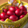 Red Easter Eggs — Stock Photo