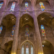 Interior of Cathedral of Santa Maria of Palma (La Seu) — Stock Photo #44057123