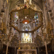 Interior of Cathedral of Santa Maria of Palma (La Seu) — Stock Photo #44066297