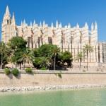 Cathedral of la Seu Majorca in Palma de Mallorca, Spain — Stock Photo #44066861