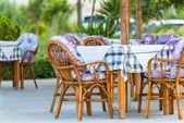 Tavern In Crete — Stock Photo