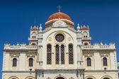 Cathedral of Saint Minas in Heraklion, Crete — Stockfoto