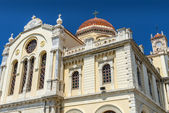 Cathedral of Saint Minas in Heraklion, Crete — Stock Photo