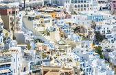 Mostra di fira a santorini, grecia — Foto Stock