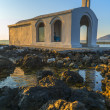White Church By Sunrise In Crete — Stock Photo #51481199