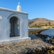 White Church By Sunrise In Crete — Stock Photo #51481411