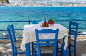 Tavern By The Sea in Greece — Stockfoto