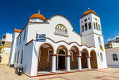 Orthodox Church in Crete, Greece — Stock Photo