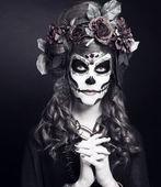 Santa Muerte. — Stock Photo
