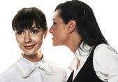 两名年轻妇女 — 图库照片