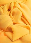 Sarı kumaş — Stok fotoğraf