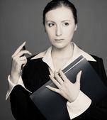 Business lady — Stock Photo