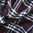 Checked fabric — Stock Photo