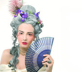 Victorian lady. — Stock Photo
