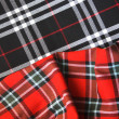Checked fabric — Stock Photo #39930219