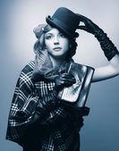 Stylish lady. — Stock Photo