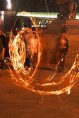 Spettacolo di fuoco — Foto Stock