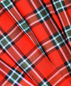 Checked fabric — Stockfoto