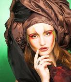 Jonge dame portret — Stockfoto
