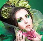 花を持つ女性 — ストック写真