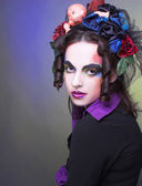 Creative girl — Stok fotoğraf