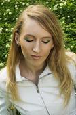 Young wonam portrait — Foto Stock