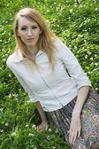 Young wonam portrait — Stock Photo