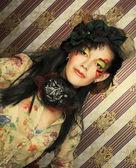 Creative girl. — Stock Photo
