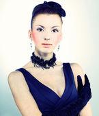 Menina vintage — Foto Stock