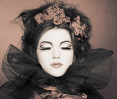 Mulher criativa. — Foto Stock