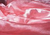 Seda cor de rosa. — Fotografia Stock