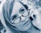 Mujer joven — Foto de Stock