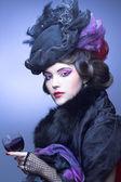 Vintage dame. — Stockfoto