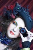 Creative lady. — Stock Photo