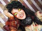 Creative girl. — Stok fotoğraf