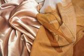 Silk fabric — Stock Photo