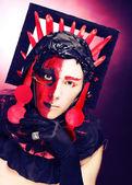 Creatieve make-up — Stockfoto