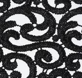 Black lace — Stock Photo