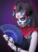 Santa Muerte. — Stock Photo