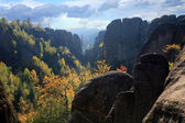 Rock formations – Czech Republic — Stock Photo
