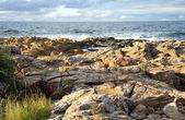 Skerry around Gudhjem, Bornholm, Denmark — Stock Photo