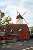 Windmill in Gudhjem, Bornholm Island, Denmark — Stock Photo