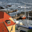 Stock Photo: Storm on seGudhjem, Bornholm Island, Denmark