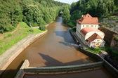 Dam Les Kralovstvi in Bílá Třemešná, Czech Republic — Stock Photo