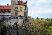 Castle Hruba Skala in Czech Republic. — Stock Photo